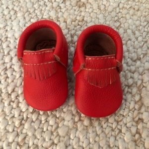 Freshly Picked red moccasins
